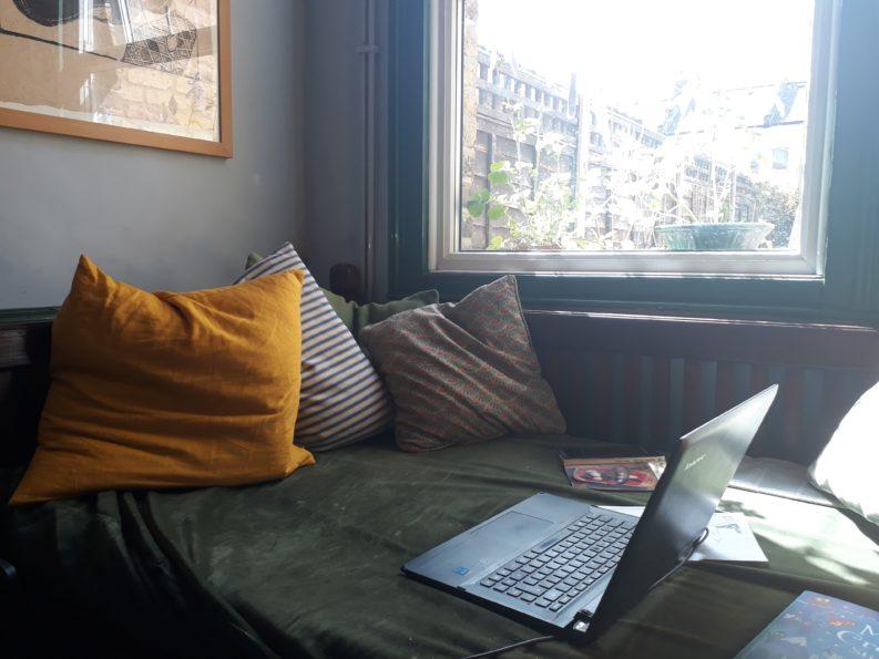 Photo of Jessie Greengrass desk