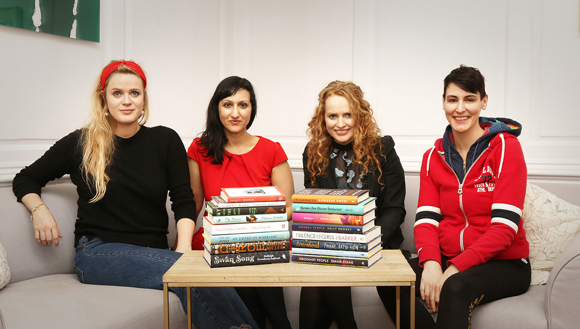 2019 Women's Prize for Fiction Longlist and Judges, photographed