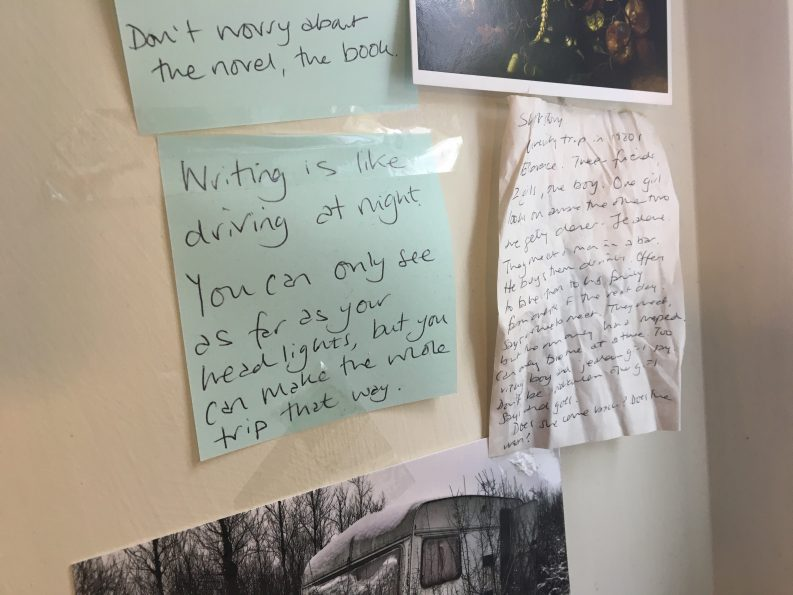Note-on-wall