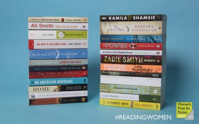Photo of all of the Women's Prize for Fiction winners