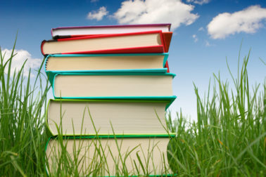 http://www.dreamstime.com/stock-photography-books-grass-image5159842